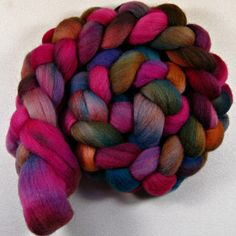 Boho 2 Falkland wool top for spinning and felting 4.2 by yarnwench