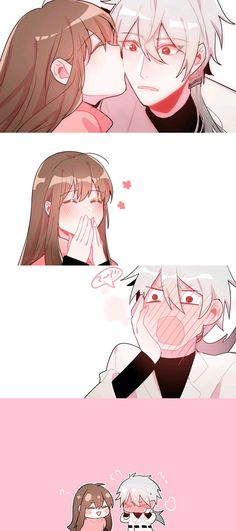 Find images and videos about anime, kawaii and anime girl on We Heart It - the app to get lost in what you love. Messenger Games, Mystic Messenger Fanart, Rika Mystic Messenger, Anime Couples Manga, Cute Anime Couples, Jumin X Mc, Art Zen, Saeran, Anime Love Couple