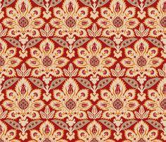 Ottoman Damask 1a fabric by muhlenkott on Spoonflower - custom fabric
