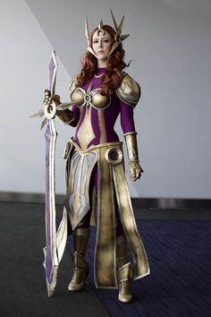 Leona League of Legends Cosplay by Missyeru.deviantart.com on @deviantART