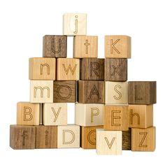 Alphabet Blocks Toy - Little Sapling Toys