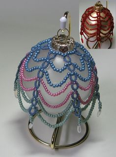 beaded christmas ornaments free patterns | Beading Patterns and kits by Dragon!, The art of beading.