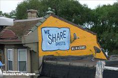 We share sheets - Philadelphia