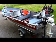 12 ft Aluminum Fishing Boat Restoration, Customization and Setup in HD - YouTube