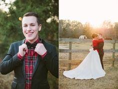 newlywed christmas shoot by haley sheffield // green wedding shoes