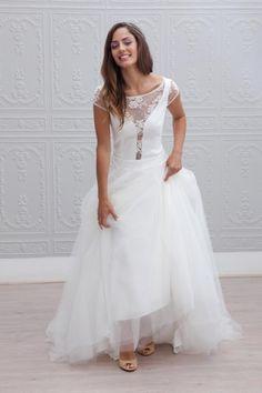 Robe de mariée style princesse bohème - Robe: Marie Laporte, modèle Alexia, collection 2015 - La Fiancée du Panda blog Mariage et Lifestyle
