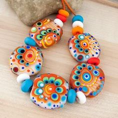 Lampwork Beads by Michou Anderson by lynne