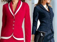 Patrón chaqueta clásica atemporal
