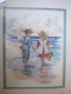 See Sally Sew-Patterns For Less - Holding Hands Cross Stitch Sunset Kit 13721 Christa Keiffer Needlework, $25.99 (http://stores.seesallysew.com/holding-hands-cross-stitch-sunset-kit-13721-christa-keiffer-needlework/)