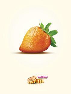 Double Flavoured Candy by Irunika Bandara, via Behance
