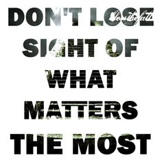 """Blessthefall """"Don't lose sight of what matters the most"""""""