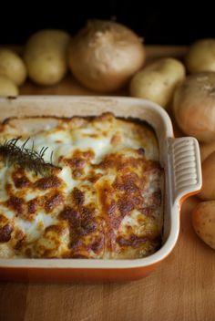 Receta de Tartiflette, pastel de queso y patatas con Bacon de Pavo ElPozo