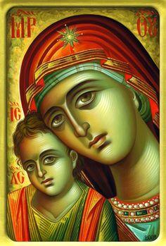 9594486690_0ca5395472_o Byzantine Art, Byzantine Icons, Writing Icon, John Chrysostom, Greek Icons, Blessed Mother Mary, Madonna And Child, Art Icon, Orthodox Icons