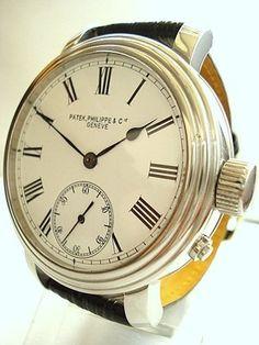 Mens Patek Philippe Co Geneve 1903 Enamel Dial Antique Wristwatch   eBay: