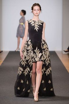 Dany Atrache at Couture Spring 2016 - Runway Photos