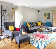 Living Room - Residential - 5 Bedroom House Renovation, Kildare by Think…