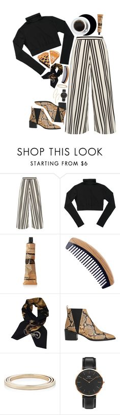 """laughter lines"" by happystranger ❤ liked on Polyvore featuring Alice + Olivia, Aesop, Hermès, Whistles, Loren Stewart, Daniel Wellington and Argento Vivo"