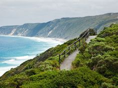 The Bibbulmun Track stretches for more than 600 miles along Western Australia's coast. The track, known for its mellow terrain, is particularly beautiful during autumn.