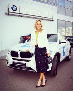Elena Vesnina BMW
