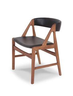 SET of 6 Vintage Danish Modern KAI KRISTIANSEN Teak Dining Chairs