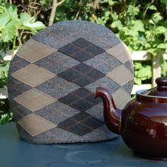Argyle tea cosy by averybritishaffair on Etsy, $64.00