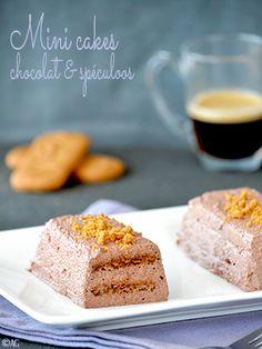 Mini cakes chocolat speculoos (sans cuisson)