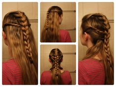 Game of Thrones Hair: Ygritte Braids (and/or House Bolton Inspired Hair Sigil!)