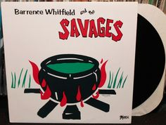 Barrence Whitfield and The Savages Self Titled LP, Original First Pressing on Mamou 1984, Fantastic EX/EX Condition! Garage Soul R&B