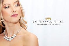 Gray Freshwater Pearl Necklace from Kaufmann de Suisse Jewelers in Palm Beach. Jewelry Showcases, Custom Jewelry Design, Freshwater Pearl Necklaces, Photography Services, Luxury Jewelry, Palm Beach, Diamond Jewelry, How To Memorize Things, Fashion Photography