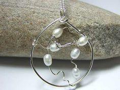 Pearl handmade jewellery https://www.silverwiredesigns.com