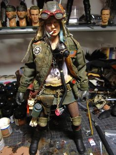Tank Girl action figure!