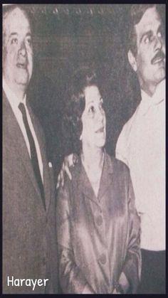 عمر الشريف بين والديه