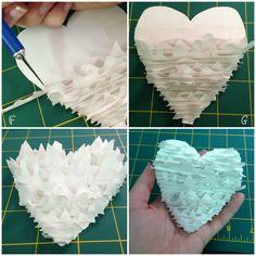 a mountain kind of love | diy valentine card