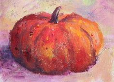 Amy Whitehouse Paintings: Fairytale Pumpkin, Still Life Paintings by Arizona Artist Amy Whitehouse