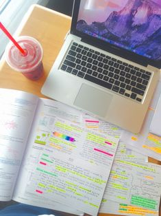 leostudies:  Productive study session again today in the same place at the same time :)