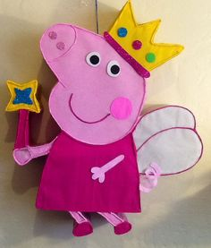 Fairy Peppa Pig Pinata By Aldimyshop