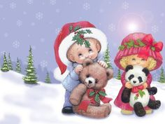 Teddy Bears for Christmas