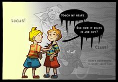 Mother 3 lucas and claus