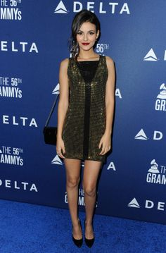 Actress Victoria Justice joins Delta Airlines in toasting 2014 GrammyWeekend with a private reception and performance from Lorde in Los Angeleson Jan. 23,2014.