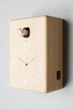17 Colorful + Modern Wood Wall Clocks to Buy or DIY via Brit + Co