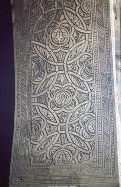 Pattern in Islamic Art - Mosque of ibn Tulun