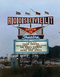 Drive-ins....need to come back