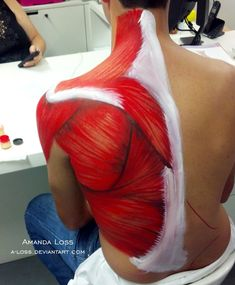 body painting on back - Google Search