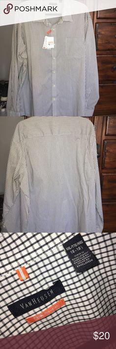 Men's dress shirt Never worn men's dress shirt Van Heusen Shirts Dress Shirts