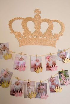 Pink and Gold Birthday Party Ideas Gold Party, Pink And Gold Birthday Party, 1st Birthday Princess, Baby Girl First Birthday, First Birthday Parties, Birthday Ideas, Pink Princess Party, Birthday Wall, Princess Sophia