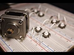 Stepper Motor Basics - Demo with just Push Buttons! - YouTube