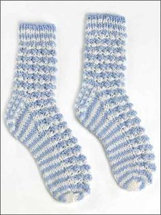 Free Sock Knitting Patterns - Berry Bramble Socks