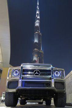 Mercedes G class and Dubai. My dream car! Mercedes G Wagon, Mercedes Benz Cars, Car Rental Deals, Dubai Cars, Benz G Class, Top Cars, My Dream Car, Sexy Cars, Exotic Cars