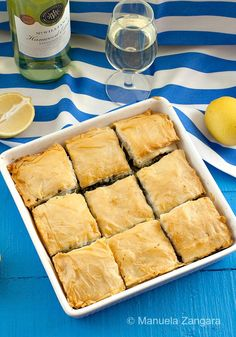 How to make a refreshing #Greek #spinachpie the traditional way: #Spanakopita!