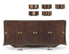 French Art Deco:Sideboard by Eugène PRINTZ (1889-1948).